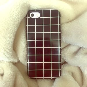 iPhone 5S plaid case!