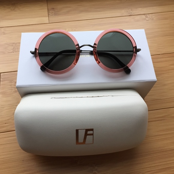 502a638e4297 The Row x Linda Farrow sunglasses.