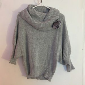 Express grey sweater