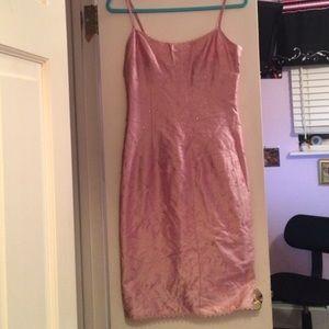 NWOT Nanette Lepore Embroidered Silk Sheath Dress