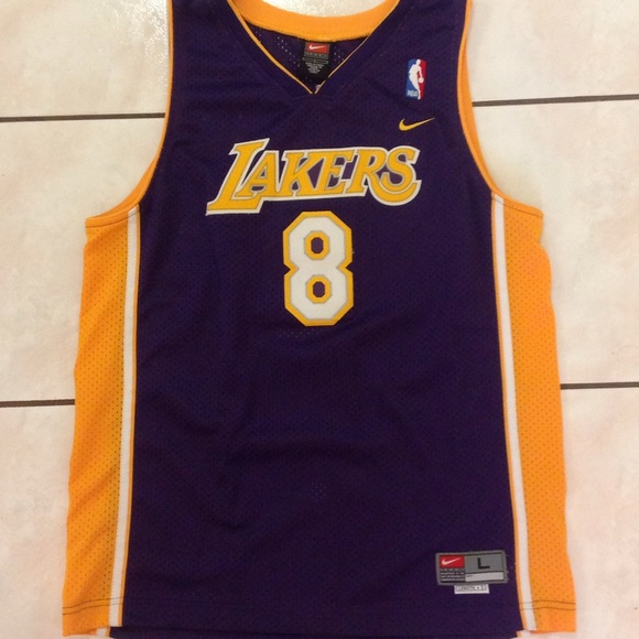 size 40 a95f8 1f6a1 Kobe Bryant L.A lakers throw back jersey