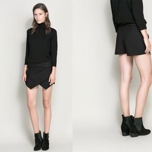Black Zara Mini Skort