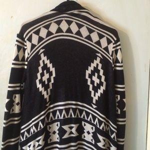Forever 21 Aztec print cardigan