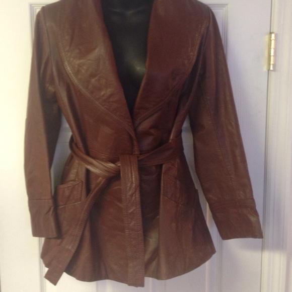46d833b18 Vintage genuine leather jacket