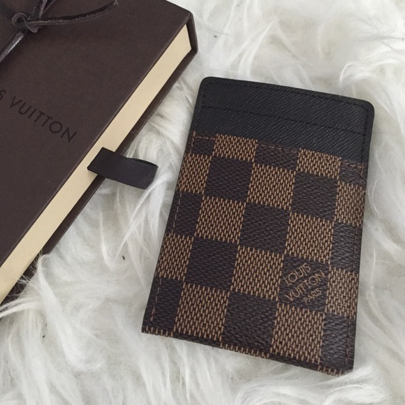 e7943d5dba Louis Vuitton Damier Moneyclip Wallet