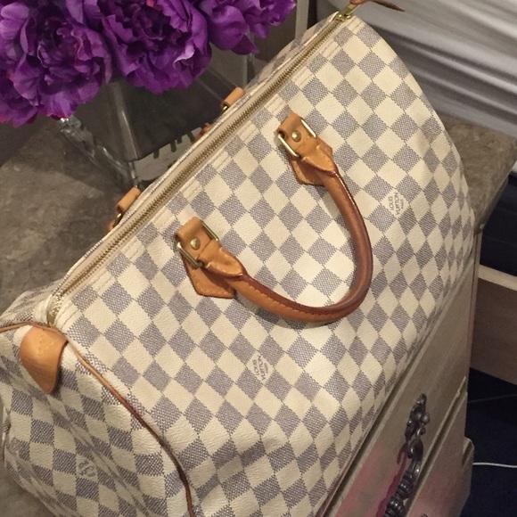 Louis Vuitton Speedy 40 Damier Azur