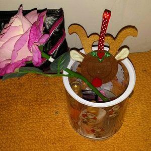 Medium holiday Gift basket Victoria secret