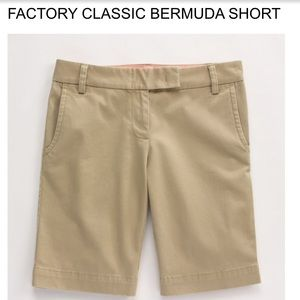 J.Crew Factory Classic Bermuda Shorts