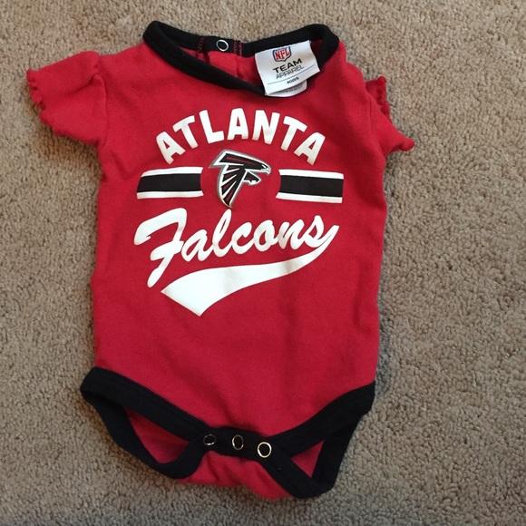 promo code e93f3 73b90 Baby Atlanta Falcons onesie