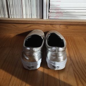 Vans Shoes - Silver metallic VANS sneakers