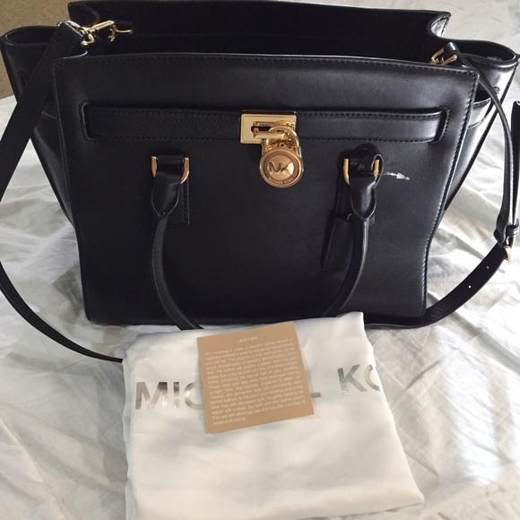 37% off Michael Kors Handbags - HAMILTON TRAVELER LARGE LEATHER ...
