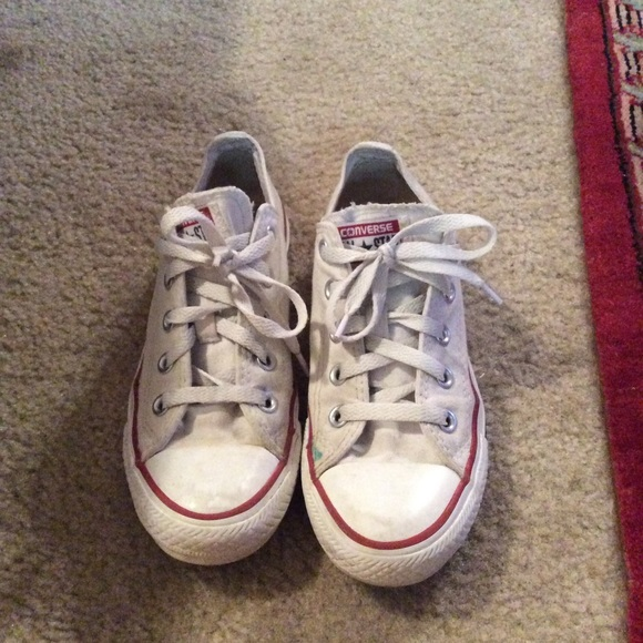 fdfaff1a2486 Converse Shoes - Converse White Size 6