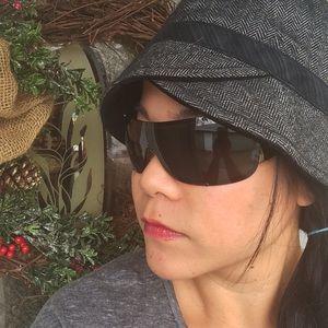2a9d0042f75 Prada Accessories - Glam Prada Shield Sunglasses