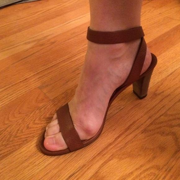 73cf432ce68 Brand new JCrew Palma Vachetta ankle wrap heels