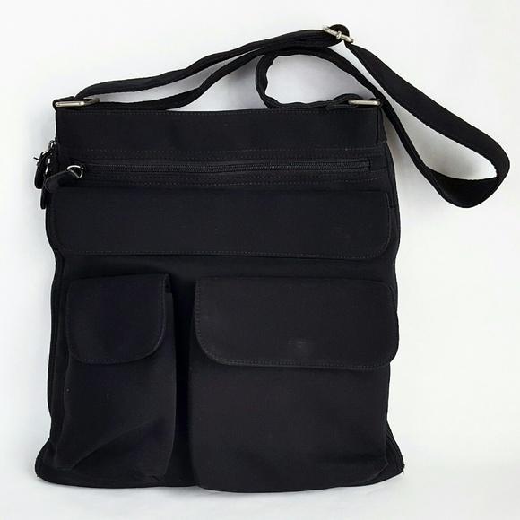89% off HOBO Handbags - HOBO International black nylon multi ...