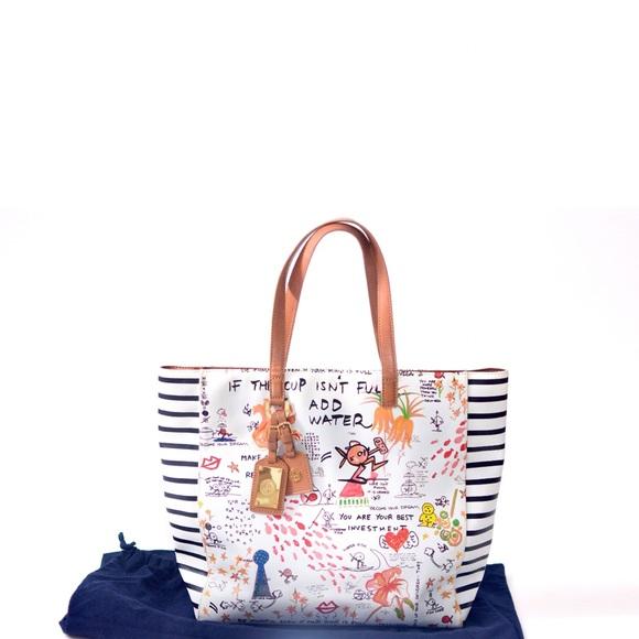 ef720fe7cbe Tory burch limited edition tote shoulder bag. M 565e52d9eaf030676c0050b5