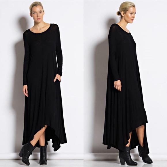 Sarah asymmetrical maxi dress