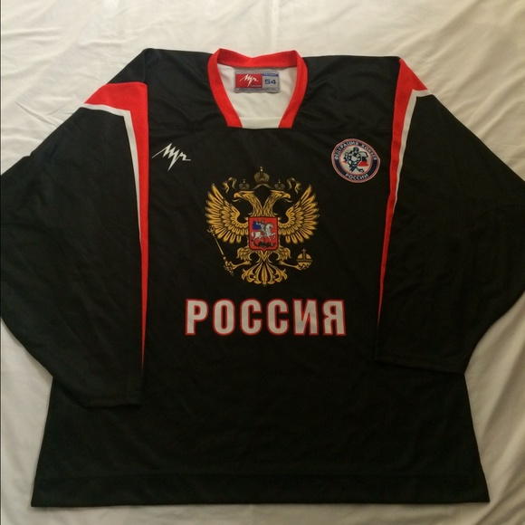 lutch Tops - Russian National Practice Jersey Malkin 5478bd9d4b7