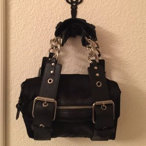 %Auth CHLOE Small Handbag Edgy Purse