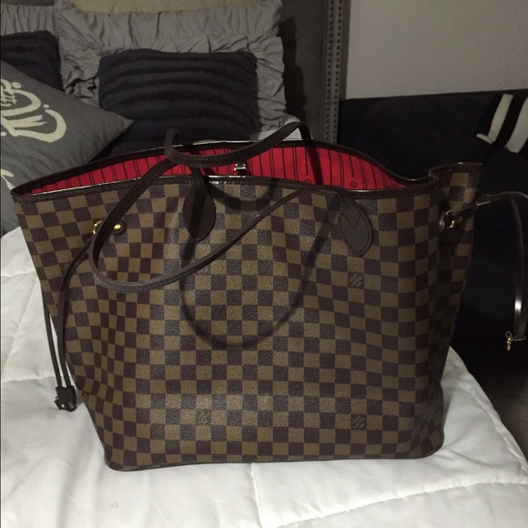 louis vuitton used bags. gently used neverfull gm bag louis vuitton bags u