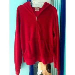Juicy couture red track jacket