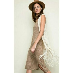Sale! Nude Knit Bodycon Dress