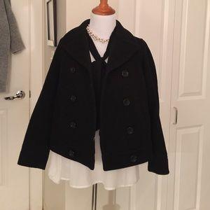 Cute petite short button jacket