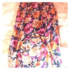 High to low skirt by forever 21