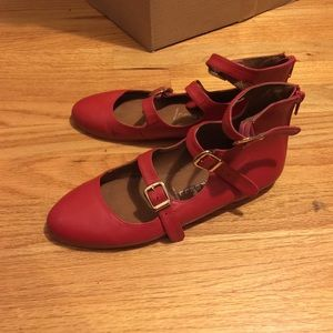 Jeffrey Campbell buckle flat
