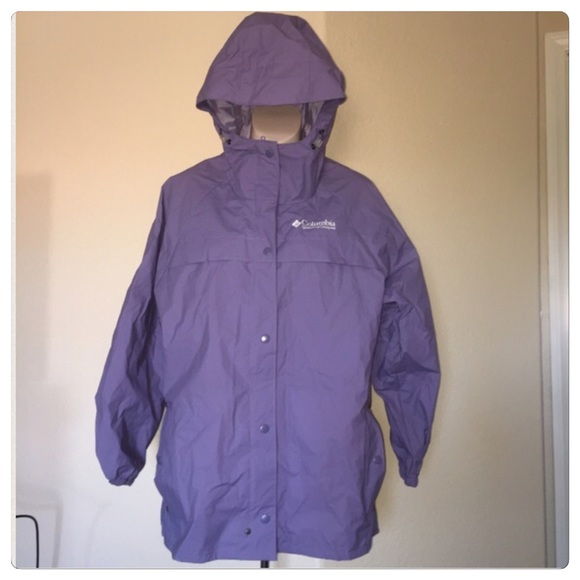 official shop top-rated newest sale uk ♣️ Columbia purple rain jacket coat small
