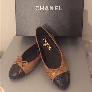 Chanel ballets flats