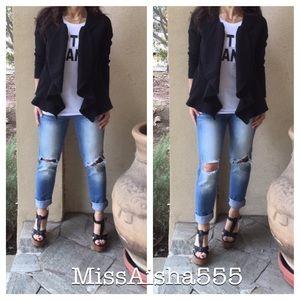 Jackets & Blazers - Gorgeous black jacket ONE HOUR SALE