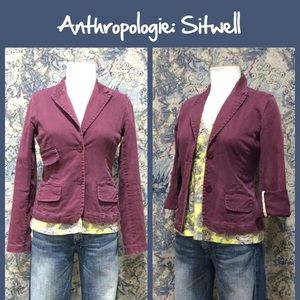 Anthropologie Jackets & Blazers - Anthro Button Front Jacket by Sitwell