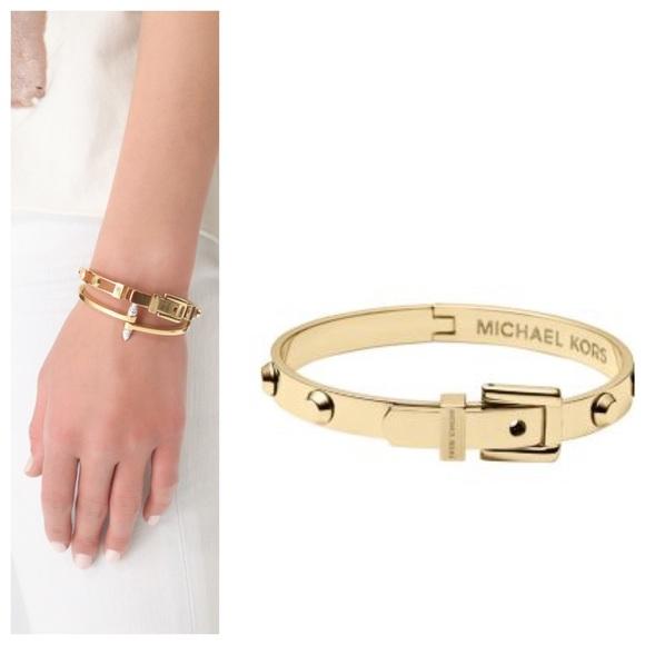 MICHAEL Michael Kors Jewelry Stunning Michael Kors Gold Bracelet
