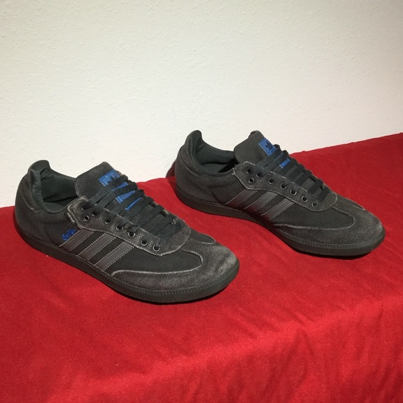 b8a1bdd586955 Adidas Shoes - ADIDAS HEMP SAMBA black .. M10    eu 44