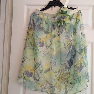 SALE✅ALYTHEA pastel floral one shoulder dress