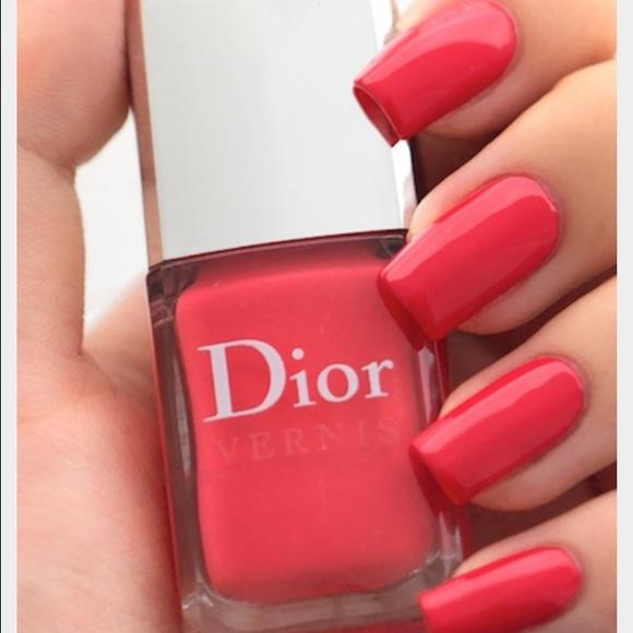 Dior Makeup | Vernis Nail Polish Orange Psychedelique | Poshmark
