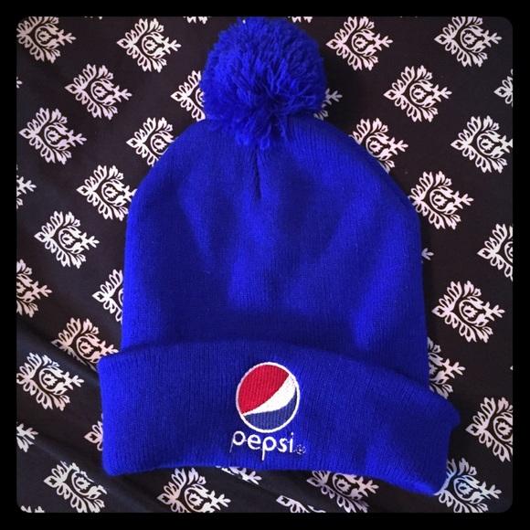 af682f455ed Pepsi winter hat. One size fits all. NWOT. M 565f07d1bcd4a70acb00065d