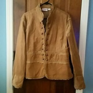 bd94a5b3b2f Bill Blass Jackets   Coats - Corduroy military jacket
