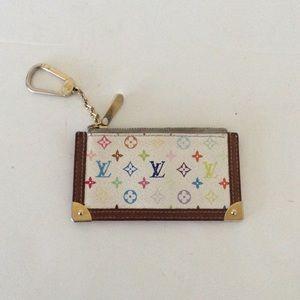 Louis Vuitton Accessories - louis vuitton rainbow key pouch