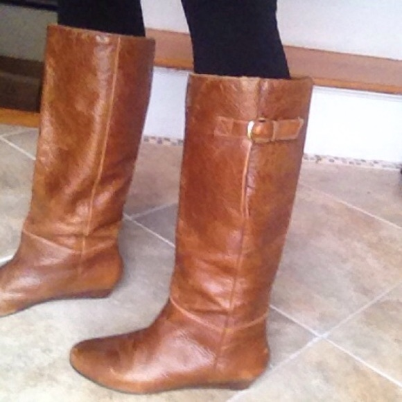 8b5e055b29d Steve Madden intyce cognac boot size 8. M 5664ad8e13302afd15012bac