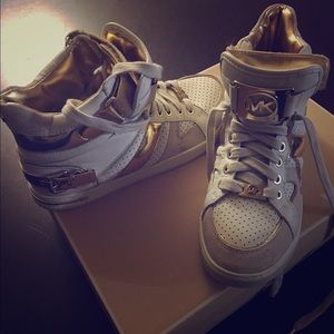 Great Holiday Gift! Michael Kors High Top Sneakers