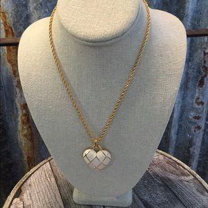 Monet Jewelry - ✅Flash Sale✅ Vintage Monet Enamel Heart Necklace