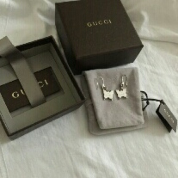 Gucci Jewelry Authentic Butterfly Earrings Poshmark