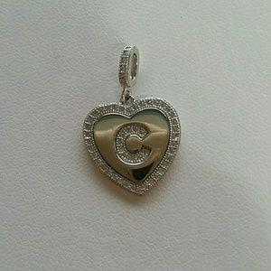 Jewelry - Initial C pendant