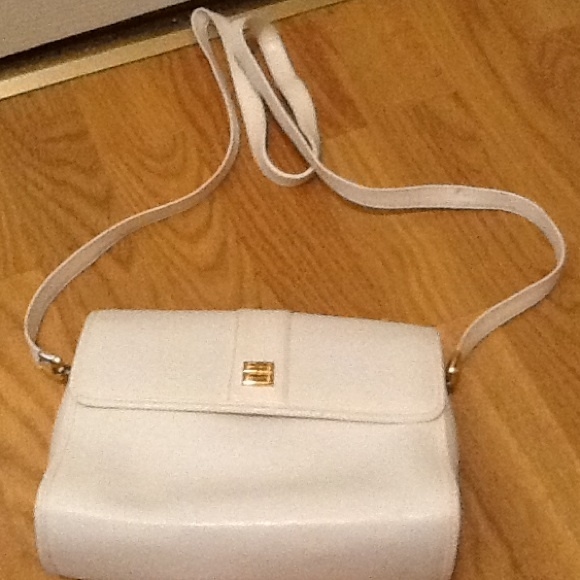 56ac81a847 Givenchy Bags | Paris Vintage Classic White Leather Purse | Poshmark