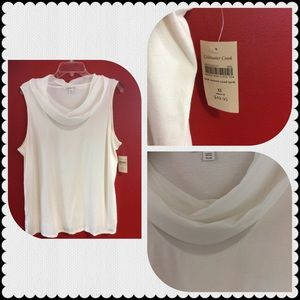 Cold water creek sleeveless top
