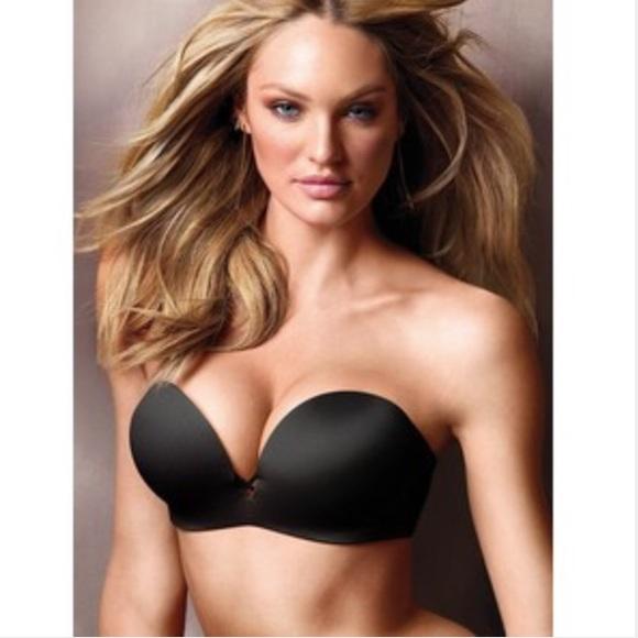 942c6e247af96 Victoria s Secret strapless bombshell bra. M 565f4c6c4225be6acc0021ac