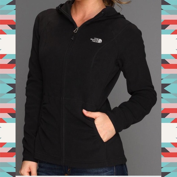 2aca9b6b7 🎉SALE🎉NWT North Face Black Hood Fleece Jacket L NWT