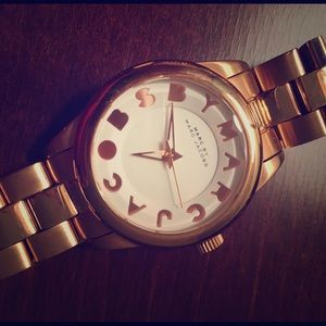 MARC JACOBS WATCH - ROSE GOLD
